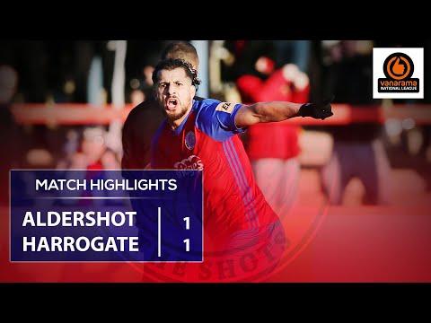Match Highlights: Harrogate Town A.F.C. (H)