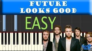 How to Play Future Looks Good - OneRepublic | Easy Piano Tutorial(MIDI+SHEET)