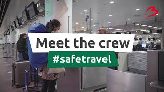 Meet the Brussels Airport crew: Michael - Check-in agent at Brussels Airlines
