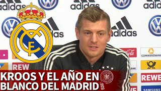 "Kroos y el año en blanco del Madrid: ""Es normal lo que nos ha pasado esta temporada"" 