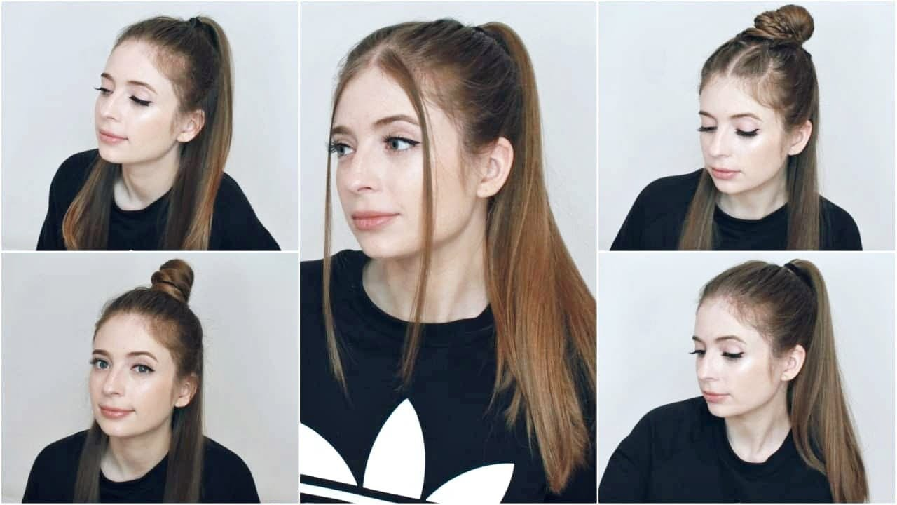 10 Easy Hairstyles for Long Straight Hair  ALISSABBRYCE