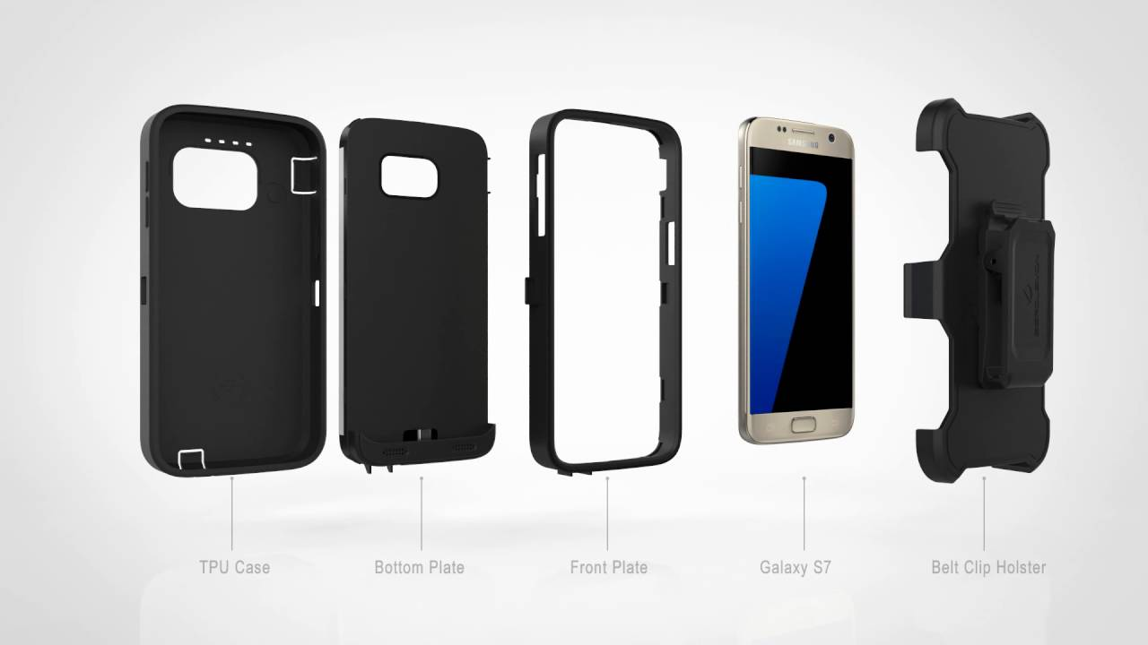 check out 50e70 8d0cd ZeroLemon Samsung Galaxy S7 7500mAh Rugged Extended Battery Case