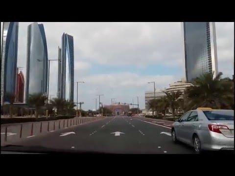 Abu Dhabi City & Tollway to  Dubai City (16-01-2016)