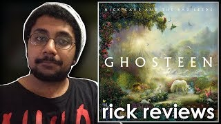 Gambar cover Nick Cave & The Bad Seeds – Ghosteen   rick reviews