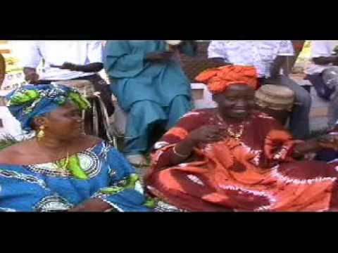 Wolof singing and drumming - GAMBIA