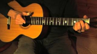 EZ Fingerpicking Blues Lesson for Beginners - Free TAB - Goodmorning Blues