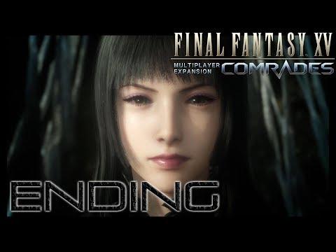 Final Fantasy XV Comrades Multiplayer Expansion (Japanese Voice) Final Boss Bahamut + Ending