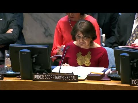 Addressing the impacts of climate related disasters - UN Security Council briefing Mp3