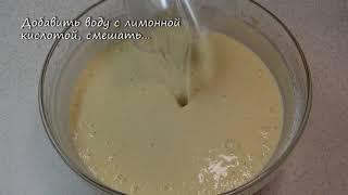 Как готовить Блины на воде   видео рецепт