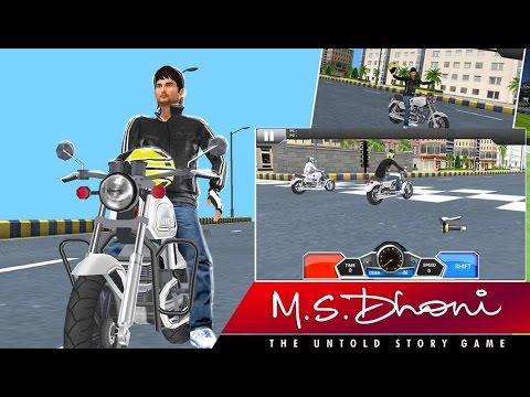 MS Dhoni:The Untold Story Game Bike RIDE...