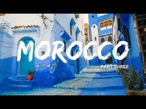 Chefchaouen, the Blue City of Morocco || MOROCCO TRAVEL VLOG