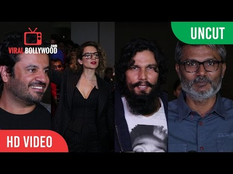 UNCUT - Rangoon Special Screening | Kangana Ranaut, Randeep