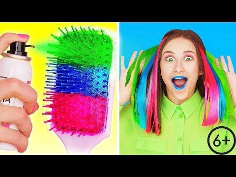 TRENDY SCHÖNHEIT HACKS | Coole Und Einfache Girly Ideen von Multi DO