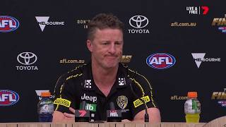 Lynch 'worth his weight in gold' | Damien Hardwick post-game | PF, 2019 | AFL