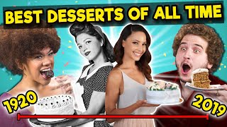 Adults Try 10 Most Iconic Desserts Through The Decades | The 10s
