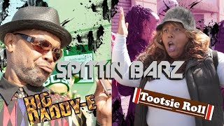 Funny Rap Battle Parody Spittin Barz Ep19: Big Daddy-E vs Tootsie Roll