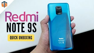 Xiaomi Redmi Note 9S - Quick Unboxing and First Impressions! (TAGALOG)