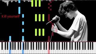 Bo Burnham // Kill Yourself // Piano with lyrics