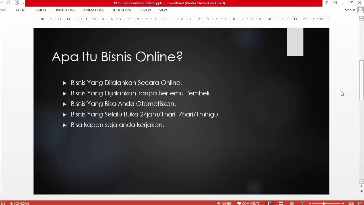 Apa Sih Bisnis Online Itu ? - YouTube