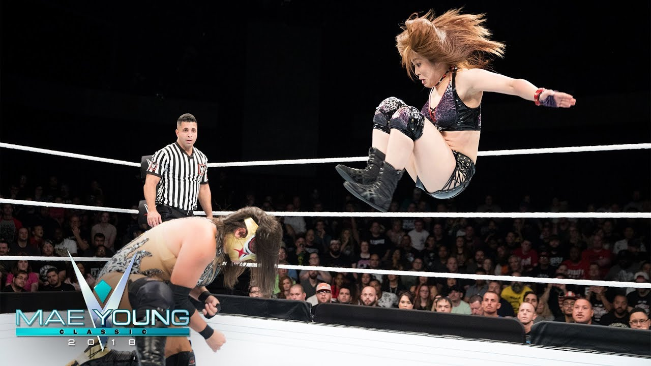 Io Shirai vs. Zeuxis - Second-Round Match: Mae Young Classic, Oct. 10, 2018