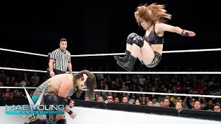Io Shirai vs. Zeuxis - Second-Round Match: Mae Young Classic, Oct. 10, 2018