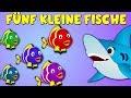 Fünf kleine Fische - Kinderlieder zum Mitsingen