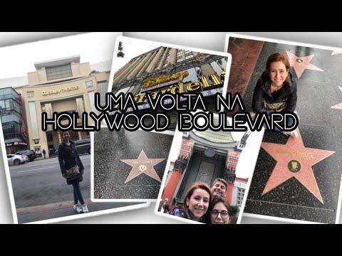 Vlog Califórnia #3 | Uma volta pela Hollywood Boulevard |Calçada da Fama, Teatro Chinês e muito mais