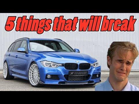 BMW F30 F31 F32 3 & 4 Series - 5 Things that will Break vlog