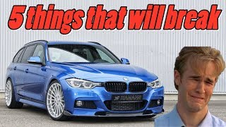 BMW F30 F31 F32 3 & 4 Series - 5 Things that will Break