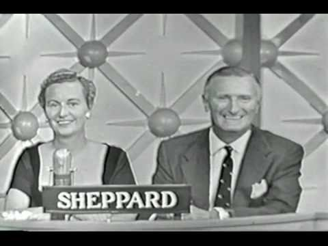 Bob Sheppard 1958  Bob and wife Peg on CBSTV's