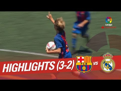 Resumen de FC Barcelona vs Real Madrid (3-2)