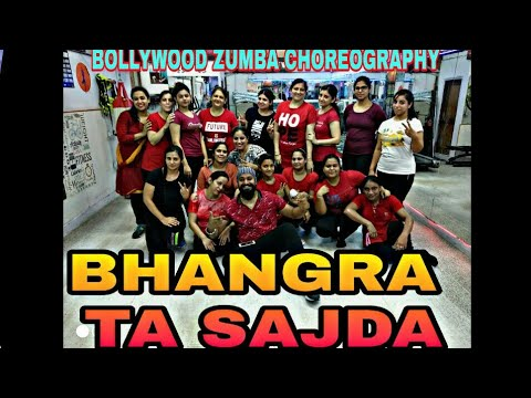 Bhangra Ta Sajda - veere di wedding || Bollywood Zumba Choreography || Dance cover || Anew Fitness
