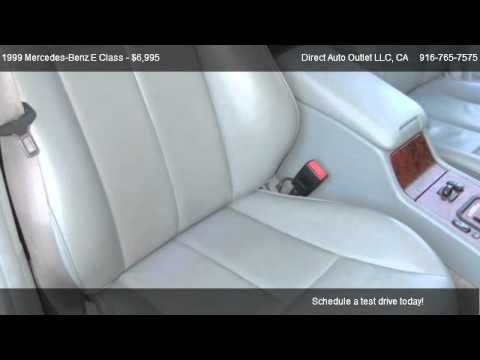 Mercedes Benz E Cl E430 Sport Direct Auto Outlet Llc