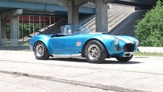 1965 Shelby Cobra Factory 5 Test Drive and acceleration (Fort Lauderdale)