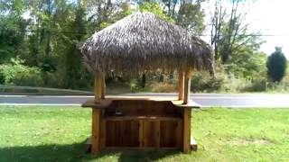 4 X 8 Tiki Kev Tiki Bar For Sale.