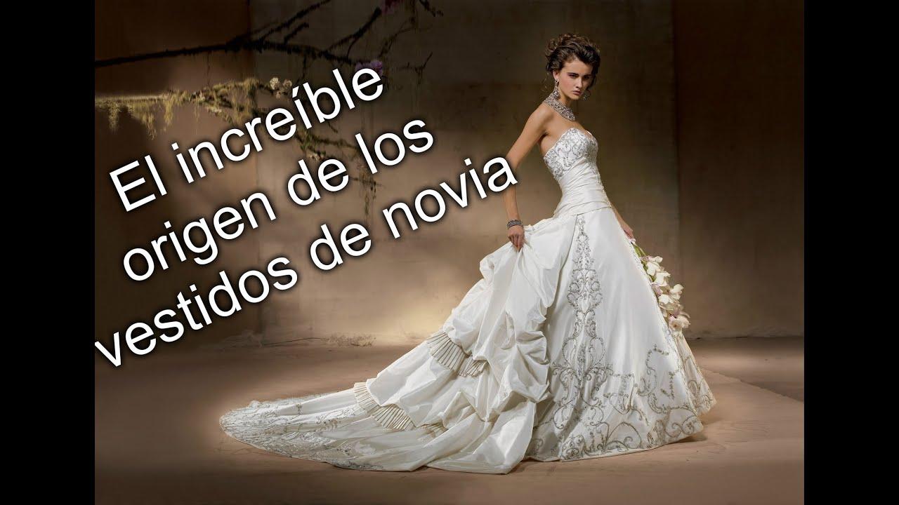 Origen del vestido de novia
