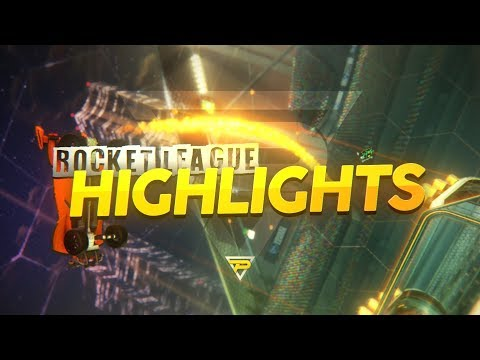 Rocket League Highlights / My Most Insane Ceiling Shot!!!