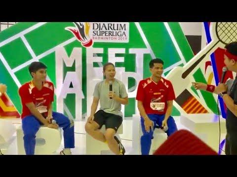 Live Meet & Greet Greysia Polii, Panji Ahmad Maulana, Ricky Karanda Djarum Superliga Badminton 2019