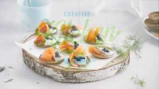 Alpro Recipe – Blini With A Taste Of The Nordics
