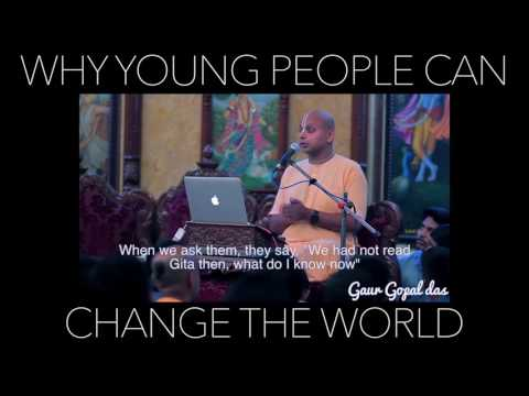 How young people can change the world