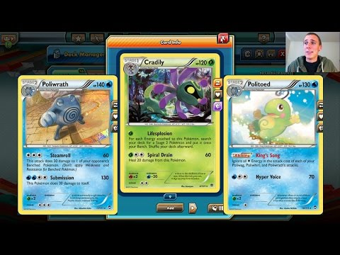 Cradily/Poliwrath! - Pokemon Trading Card Game Online - Let's Play - Part 151