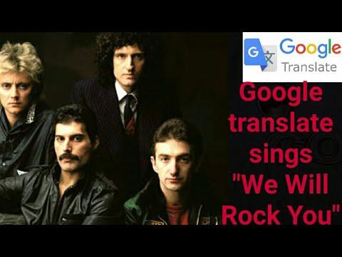 GOOGLE sings We Will Rock You ... (Queen)  