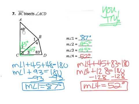 GEO CH.4 Day 2 - Angles of Triangles; Isosceles & Equilateral Triangles