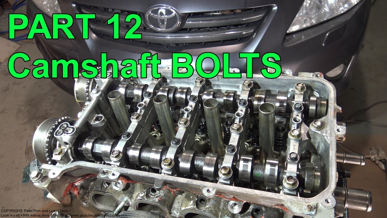 How To Assemble Toyota Corolla Dual Vvt