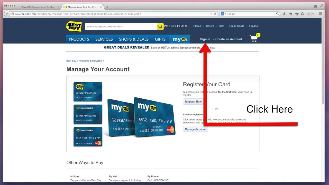 Credit card chip not working make payments online