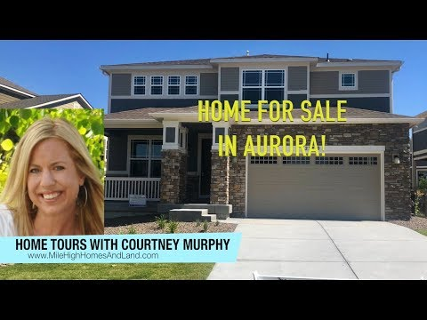New Home For Sale In Aurora Colorado - Meritage Homes At Inspiration - READY NOW!