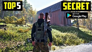 TOP 5 SECRET GAMES FOR ANDROID IN 2020 | High Graphics (Offline)