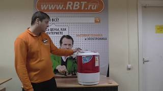 Видеообзор стиральной машины LERAN TWM 110-25 R со специалистом от RBT.ru