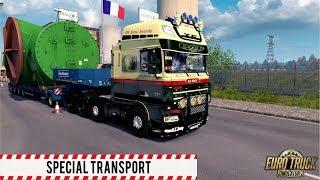ETS2 1.30 - Special Transport DLC - DAF XF 105.510 - Nantes to Civaux