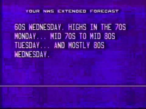 Cincinnati Radar & TWC June 22 1990